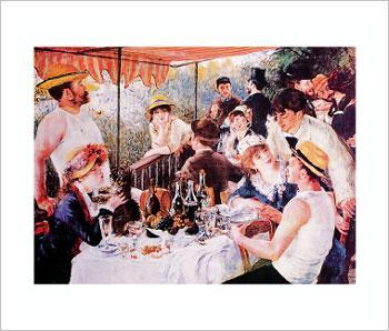lrenoir art unchen-boating-party